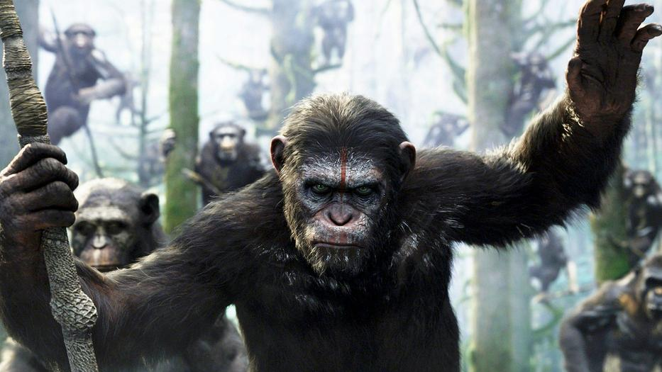 Dawn Of The Planet Of The Apes 2014 Review The Action Elite