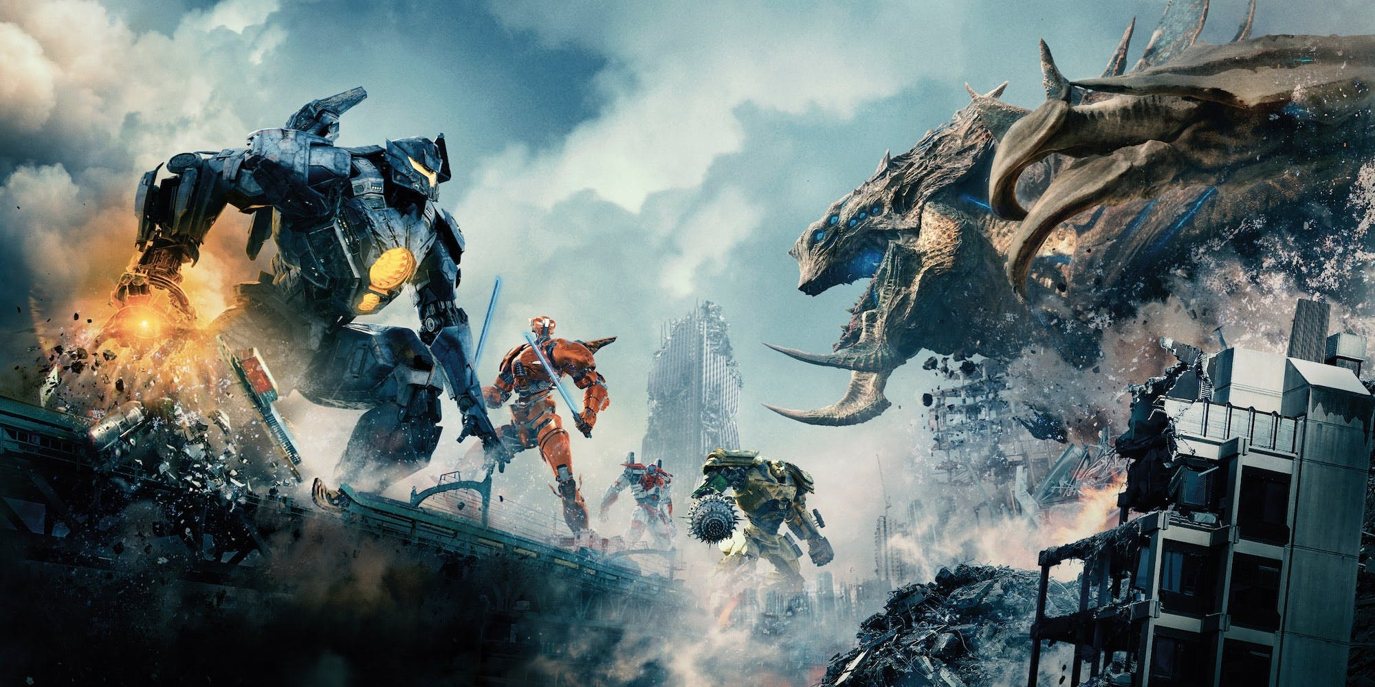 Pacific Rim Uprising 2018 Review The Action Elite