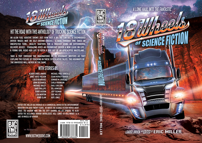 """18 Wheels of Science Fiction"""" Trucking Anthology Book on"""